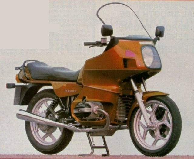 BMW R 80RT Mono technical specifications